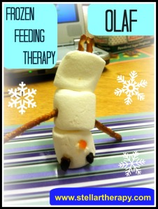 Stellar Therapy Services Feeding Therapy Olaf