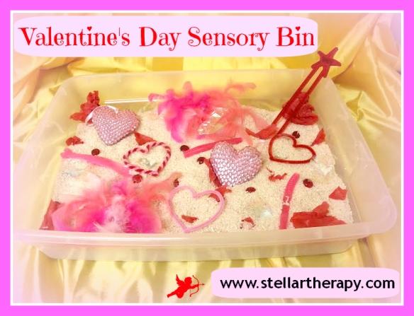 Stellar Therapy Valentines Sensory Bin